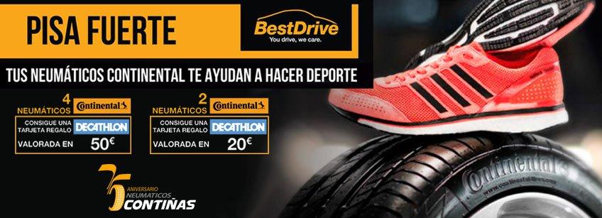 Haz deporte con Neumáticos Contiñas