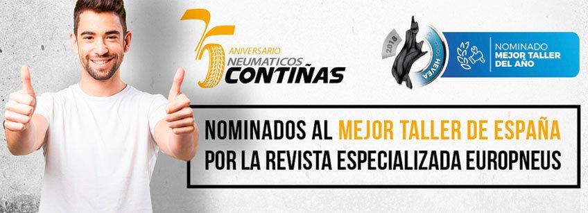Nominados Mejor Taller de España