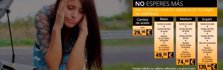Oferta en Cambio de Aceite por 29.95 €